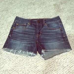 American Eagle Denim Super Stretch Shorts